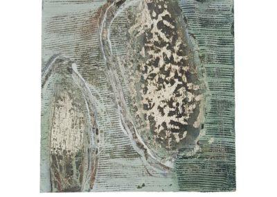 2008, o.T., 20  × 20 cm, Acryl auf Holz